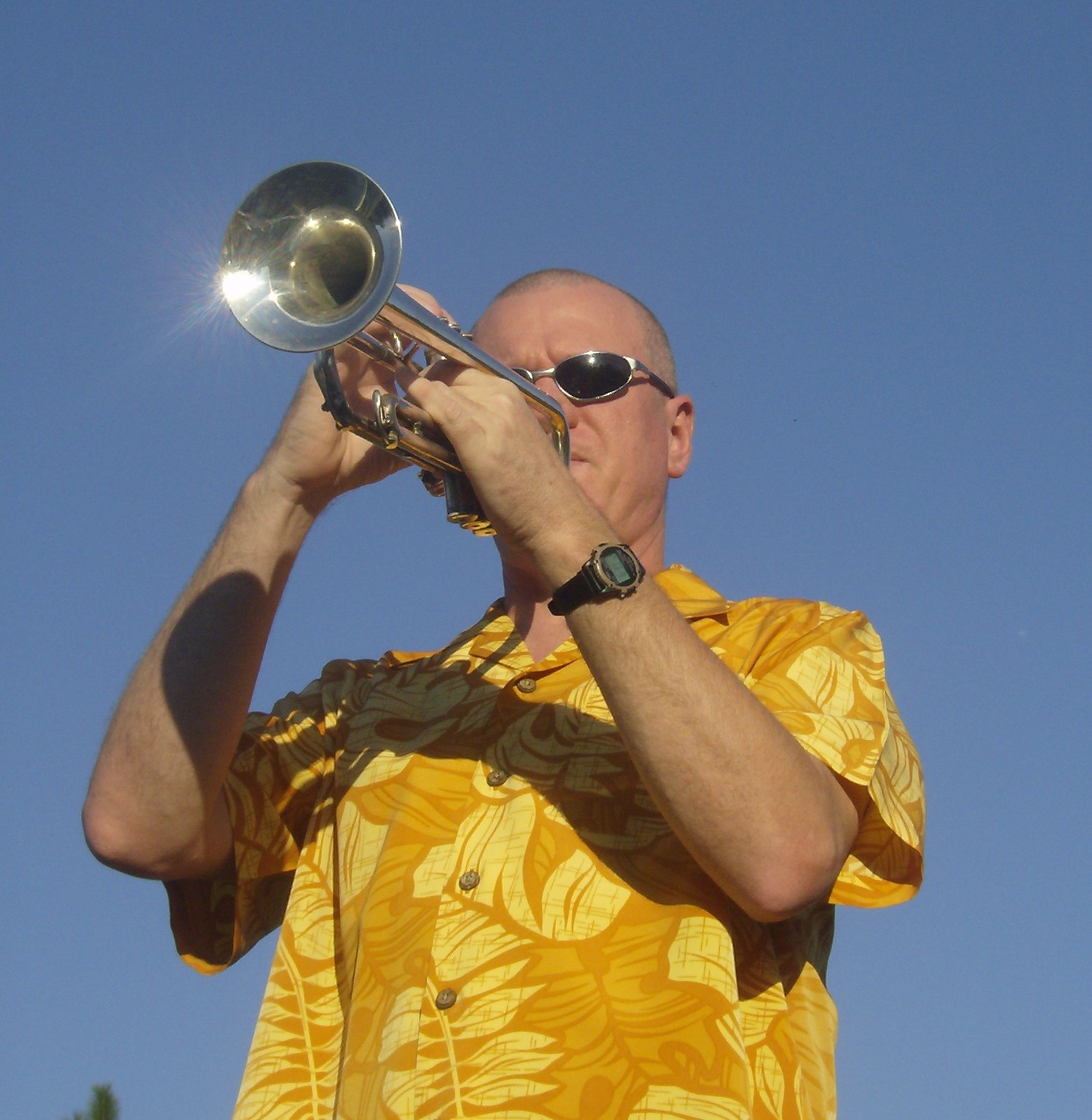 Jayson Melton on Trumpet