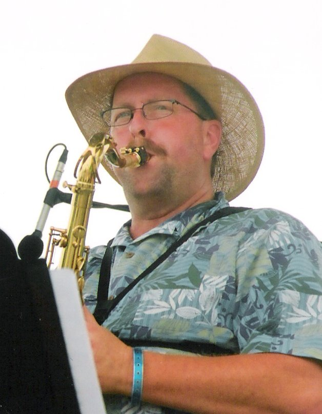 Mike Hargrove on Saxaphone
